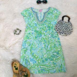 EUC {Lilly Pulitzer} Harper Embellished T-dress